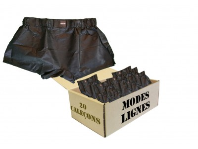 Lot de 20 Caleçons jetables, shorts à Usage Unique Homme