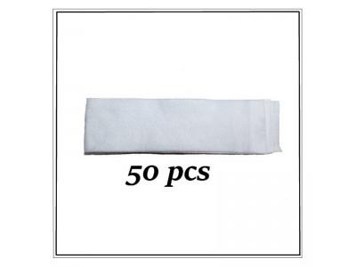 Sachet de 50 bandeaux blancs non tissés jetables