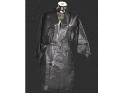 Kimono Noir Jetable ultra résistant
